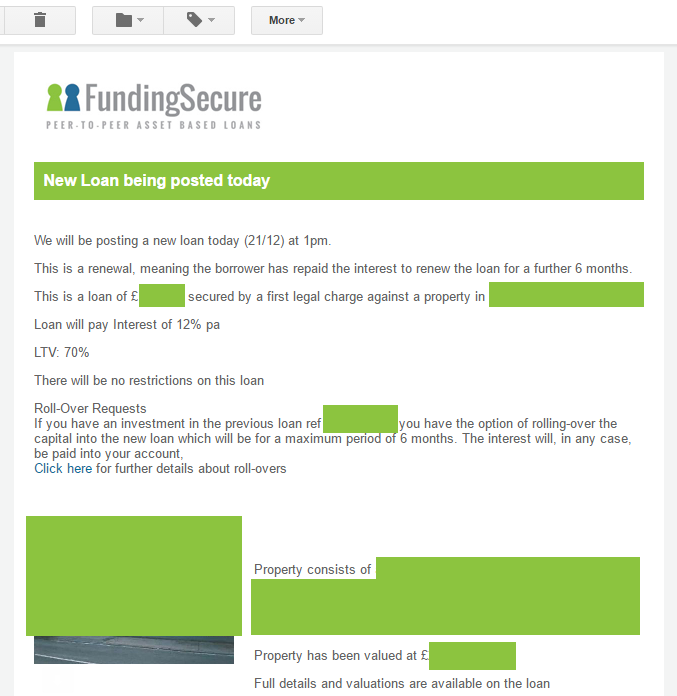 Funding Secure Email