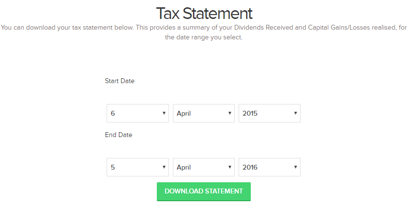 Generate Property Partner Tax Statement