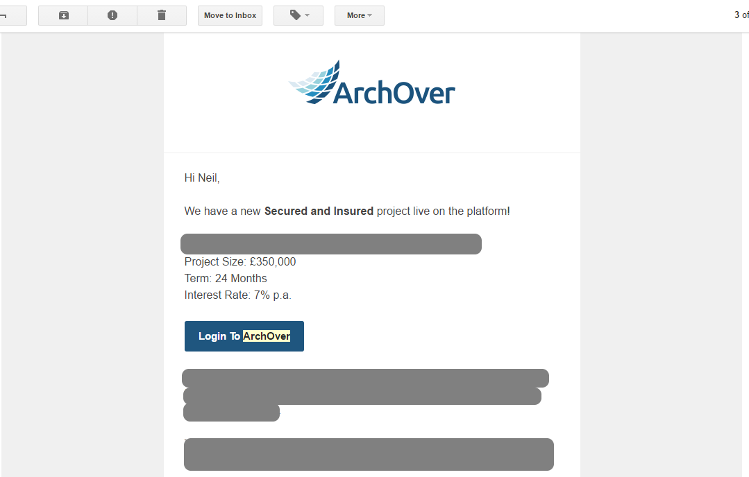 ArchOver email